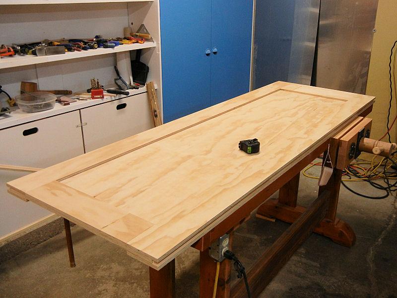 How To Make A Plywood Door Ibuildit Ca