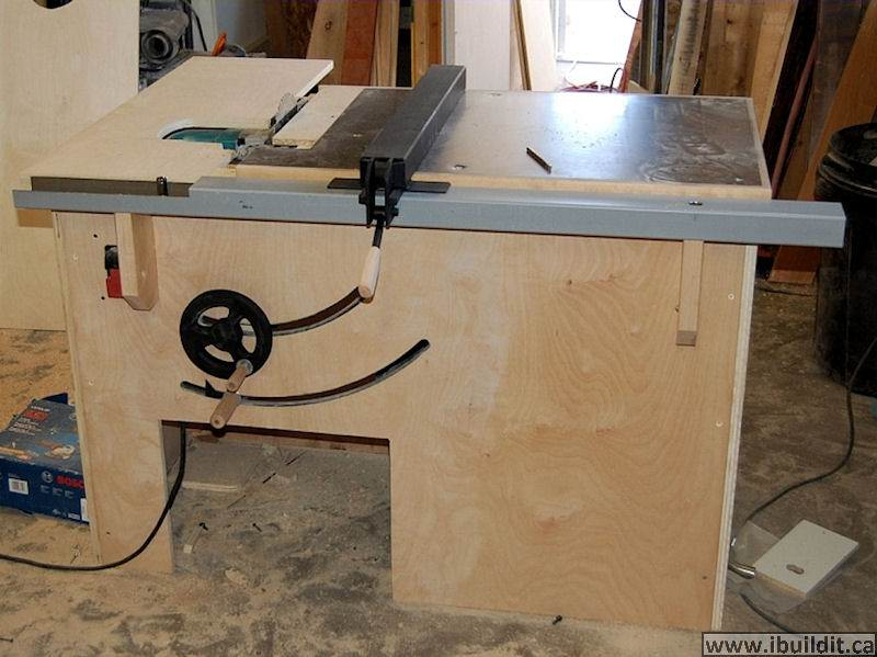 How To Make A Table Saw Ibuildit Ca