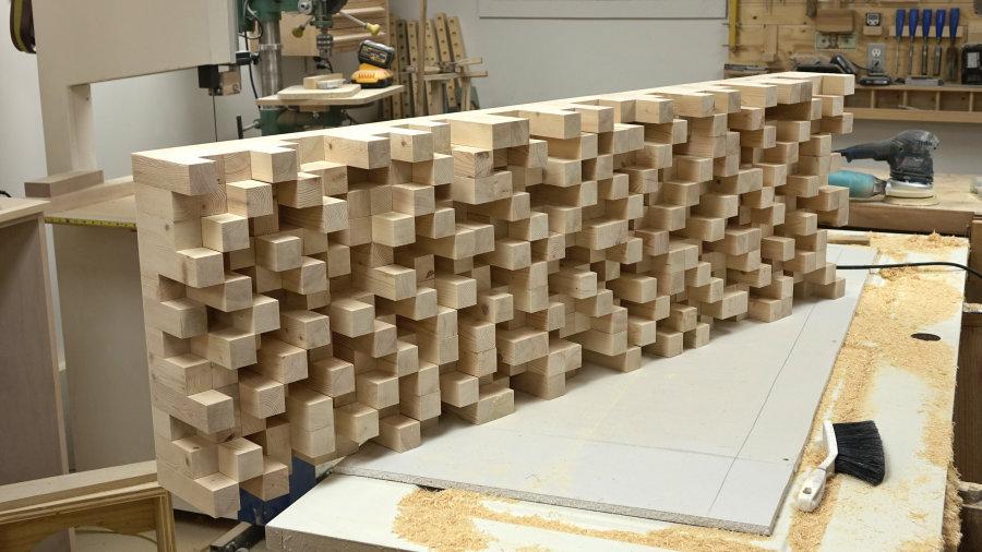 how to make a skyline diffuser wall art ibuildit ca. Black Bedroom Furniture Sets. Home Design Ideas